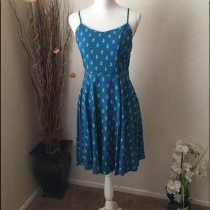 Old Navy blue sun dress